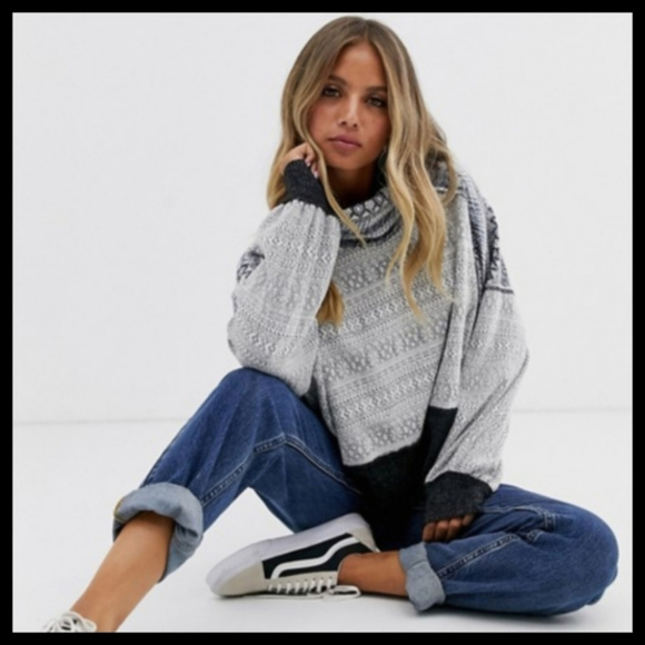 Free People Sweaters - NWT Free People At The Lodge Turtleneck Sweater